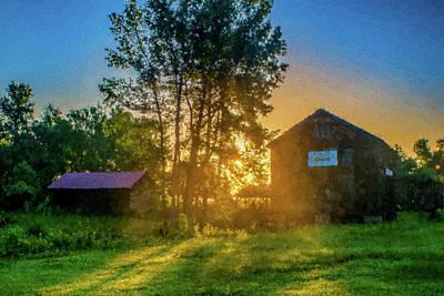 Boykin Photograph - Boykins Mill Sunrise by Alicia Collins