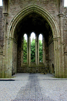 Photograph - Boyle Abbey In Ireland 2 by Michelle Joseph-Long