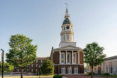 Photograph - Boyle County Courthouse by Sharon Popek