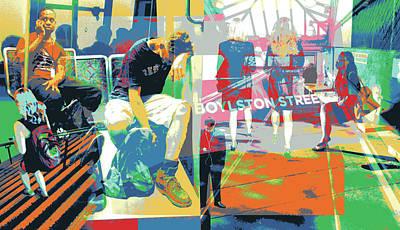 Boylston Art Print by Shay Culligan