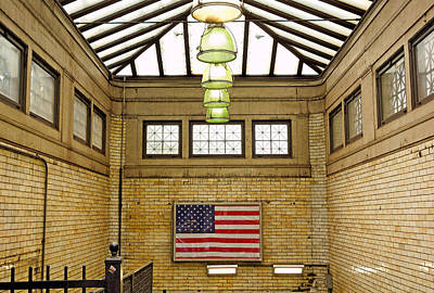 Photograph - Boylston Street Station by Robert Meyers-Lussier