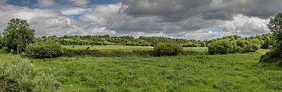 Photograph - Boyne Valley Panorama by Teresa Wilson
