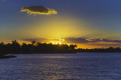 Photograph - Boynton Beach Sunset by Lynn Bauer