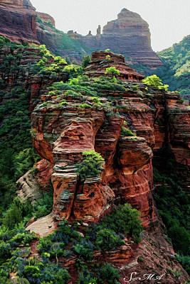 Photograph - Boynton Canyon 05-910 by Scott McAllister