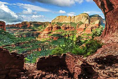 Photograph - Boynton Canyon 05-930 by Scott McAllister
