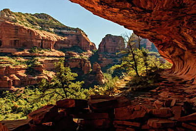 Photograph - Boynton Canyon 07-007 by Scott McAllister