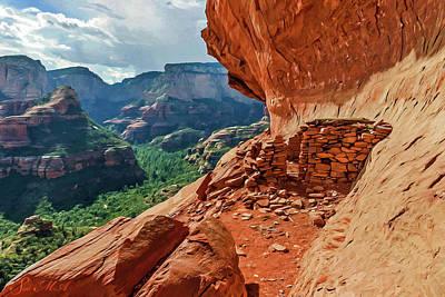 Photograph - Boynton Canyon 08-174 by Scott McAllister