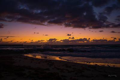 Photograph - Boynton Inlet Twilight by Ken Figurski