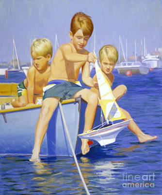 Boys Ahoy Original