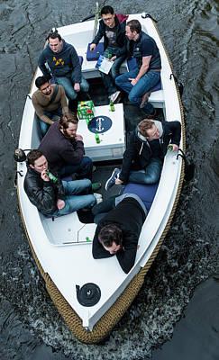 Photograph - Boys In The Boat by Bob VonDrachek
