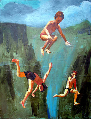 Painting - Boys Of Summer by Geoff Greene