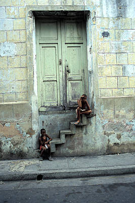 Photograph - Boys On Stairs by Marcus Best