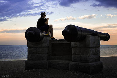 Photograph - Boys On The Canons by Fran Gallogly
