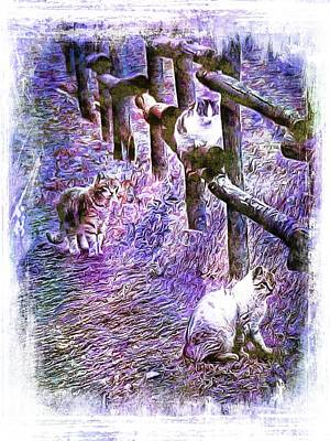 Photograph - Boys On The Prowl by Dorothy Berry-Lound