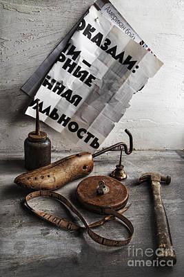 Shoemaker Photograph - Boys Toys by Elena Nosyreva