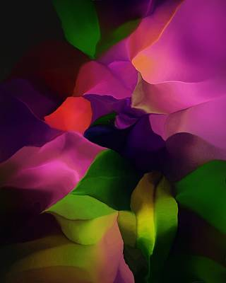 Digital Art - Botanical Fantasy 052016 by David Lane