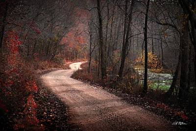 Photograph - Boz Mill Road by Bill Stephens