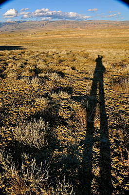 Photograph - Bozeman Montana Shadow by Braden Moran