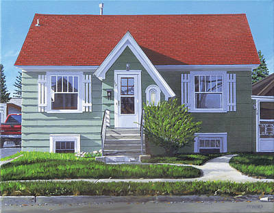 Bozeman Painting - Bozeman Number Two by Michael Ward
