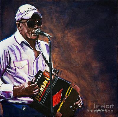 Painting - Bozoo Chavis by Jock McGregor