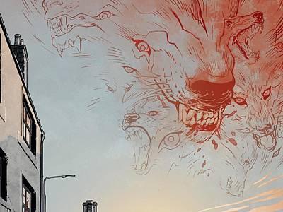 Music Wall Art - Digital Art - B.p.r.d. by Super Lovely