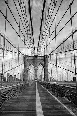 Photograph - Brooklyn Bridge by Emmanuel Panagiotakis