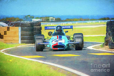 Photograph - Brabham Bt29 by Stuart Row