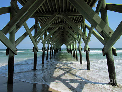Photograph - Braced At The Pier by Roberta Byram