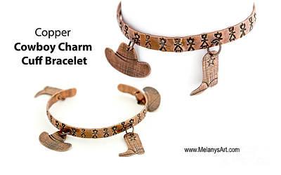 Jewelry - Bracelet Western Charm Cuff Copper by Melany Sarafis