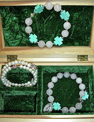 Jewelry - Bracelets Of Faith by Michele Myers