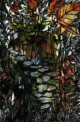 Painting - Brackets In Wild by Garima Srivastava