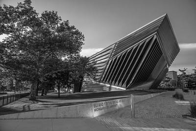Photograph - Brad Art Museum Black And White 2 by John McGraw