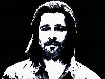 Brad Pitt Original by Sergey Lukashin