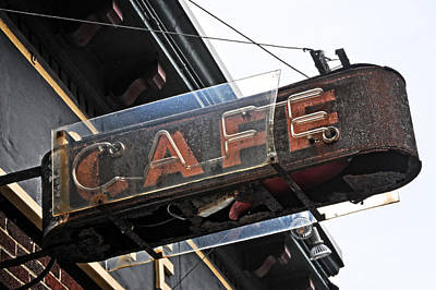 Photograph - Braddock Cafe by Mike Martin