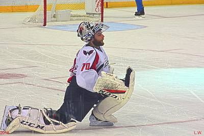 Photograph - Braden Holtby by Lisa Wooten