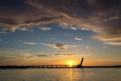 Photograph - Bradenton Sundown by Nicholas Evans