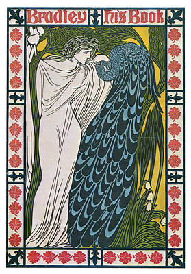 Mixed Media - Bradley - His Book - Art Nouveau Poster - Advertising by Studio Grafiikka