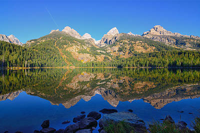 Photograph - Bradley Lake Morning Reflections by Greg Norrell