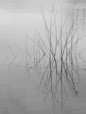 Photograph - Bradley Lake, Spring Melt by Heather Giebel