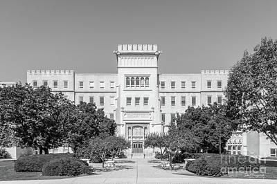 Photograph - Bradley University Bradley Hall by University Icons