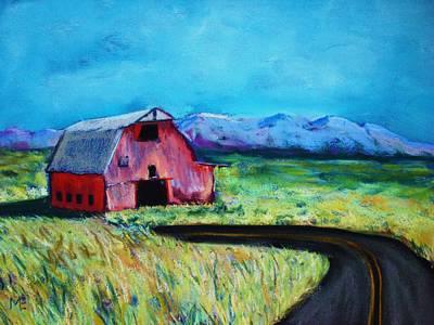Bradley's Barn Art Print