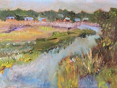 Painting - Brady's Island by Michael Helfen