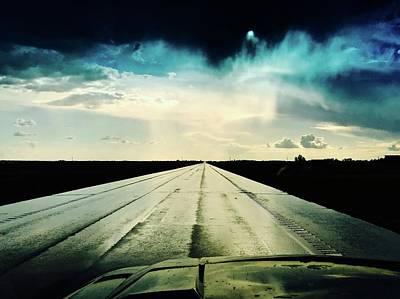 Photograph - Braeking Through The Storm Waskatena by Brian Sereda