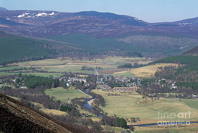 Photograph - Braemar From Morrone by Phil Banks