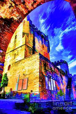 Digital Art - Braga Castle by Rick Bragan