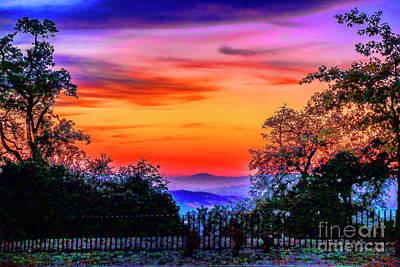 Photograph - Braga Sunset by Rick Bragan
