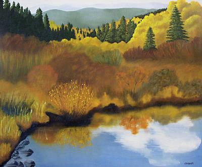 Painting - Bragg Creek by Joanne Giesbrecht