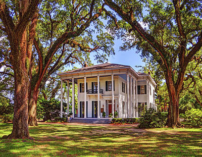 Digital Art - Bragg Mitchell House In Mobile Alabama by Michael Thomas