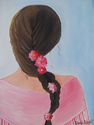Painting - Braided Hair by Glenda Barrett