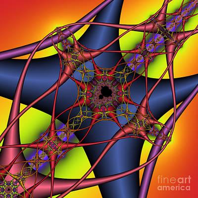 Brain Cells 134 Art Print by Rolf Bertram